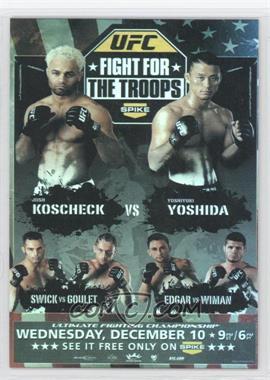 2009 Topps UFC Fight Poster Review #FPR-UFN16 - Josh Koscheck, Yoshiyuki Yoshida