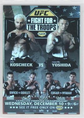 2009 Topps UFC Fight Poster Review #FPR-UFN16 - [Missing]