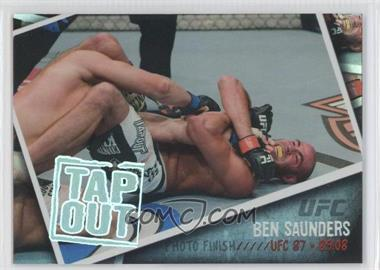 2009 Topps UFC Photo Finish #PF-19 - Ben Saunders