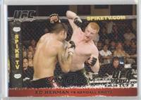 Ed Herman vs Kendall Grove