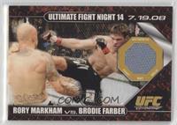 Rory Markham vs Brodie Farber /88