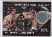 Matt Brown vs Matt Arroyo