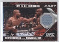 Quinton Jackson vs Marvin Eastman