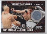 Rory Markham vs Brodie Farber