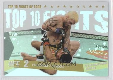 2009 Topps UFC Round 1 - Top 10 Fights of 2008 - Gold #TT5 - Kurt Pellegrino, Thiago Tavares /88