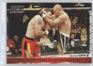 2009 Topps UFC Round 1 [???] #34 - [Missing]