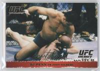 BJ Penn vs Joey Gilbert