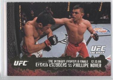 2009 Topps UFC Round 2 - [Base] - Gold #117 - Efrain Escudero vs Phillipe Nover