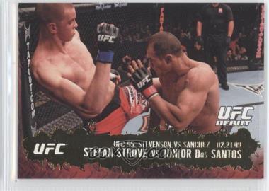 2009 Topps UFC Round 2 - [Base] - Gold #138 - Stefan Struve vs Junior Dos Santos