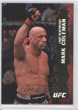 "2009 Topps UFC Round 2 - [Base] - Gold #40 - Mark ""The Hammer"" Coleman (Mark Coleman)"