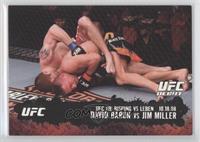 David Baron vs Jim Miller /188