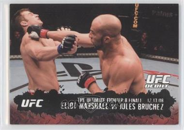 2009 Topps UFC Round 2 - [Base] - Silver #114 - Eliot Marshall vs Jules Bruchez /188