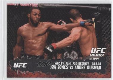 2009 Topps UFC Round 2 - [Base] #101 - Jon Jones vs Andre Gusmao