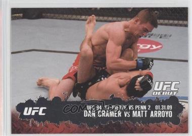 2009 Topps UFC Round 2 - [Base] #123 - Dan Cramer vs Matt Arroyo