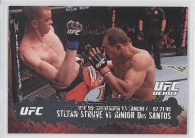 2009 Topps UFC Round 2 - [Base] #138 - Stefan Struve vs Junior Dos Santos