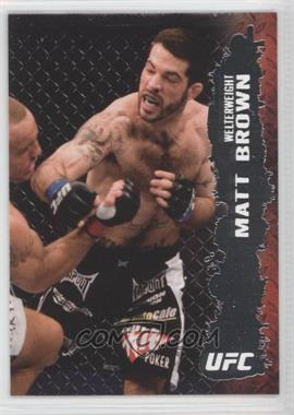 2009 Topps UFC Round 2 - [Base] #41 - Matt Brown