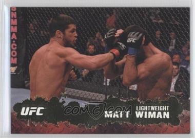 2009 Topps UFC Round 2 Gold #10 - Matt Wiman