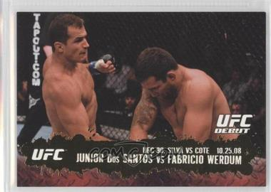 2009 Topps UFC Round 2 Gold #108 - [Missing]