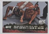 Steve Cantwell vs Razak Al-Hassan