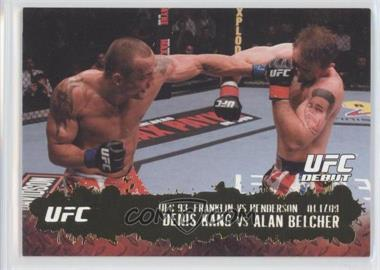 2009 Topps UFC Round 2 Gold #122 - [Missing]