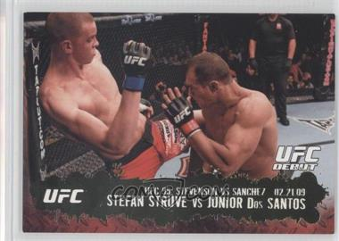 2009 Topps UFC Round 2 Gold #138 - [Missing]