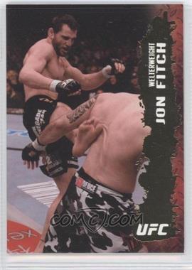 2009 Topps UFC Round 2 Gold #14 - Jon Fitch