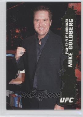 2009 Topps UFC Round 2 Gold #145 - Mike Goldberg