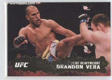2009 Topps UFC Round 2 Gold #24 - Brandon Vera