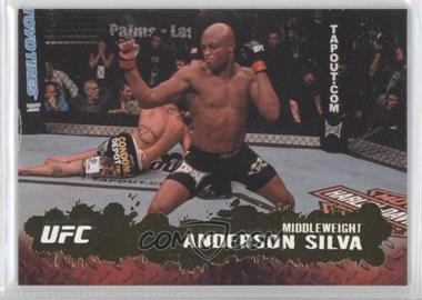 "2009 Topps UFC Round 2 Gold #33 - Anderson ""The Spider"" Silva (Anderson Silva)"