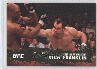 2009 Topps UFC Round 2 Gold #37 - Rich Franklin