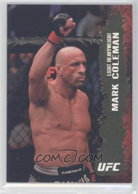 "2009 Topps UFC Round 2 Gold #40 - Mark ""The Hammer"" Coleman (Mark Coleman)"