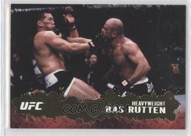 2009 Topps UFC Round 2 Gold #51 - Bas Rutten