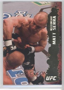 2009 Topps UFC Round 2 Gold #59 - Matt Serra