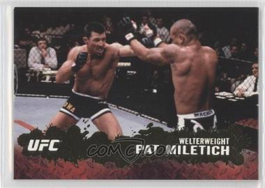 2009 Topps UFC Round 2 Gold #68 - Pat Miletich