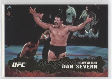 "2009 Topps UFC Round 2 Gold #72 - Dan ""The Beast"" Severn (Dan Severn)"