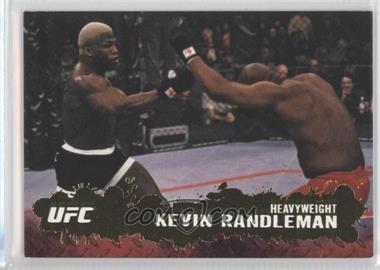 2009 Topps UFC Round 2 Gold #81 - Kevin Randleman