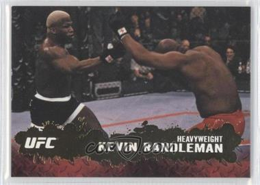 2009 Topps UFC Round 2 Gold #81 - Kevin Randleman