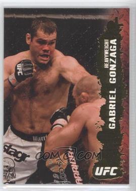 2009 Topps UFC Round 2 Gold #92 - Gabriel Gonzaga