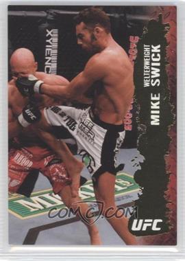 2009 Topps UFC Round 2 Gold #95 - Mike Swick