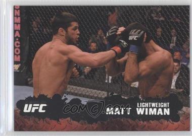 2009 Topps UFC Round 2 Silver #10 - Matt Wiman /188