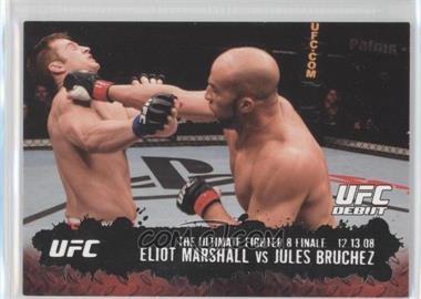 2009 Topps UFC Round 2 Silver #114 - Eliot Marshall, Jules Bruchez /188