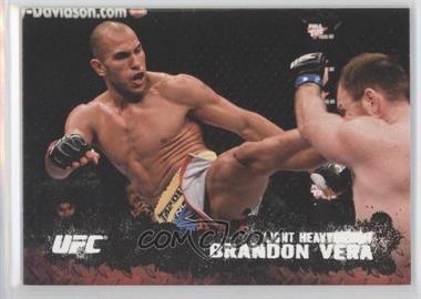 2009 Topps UFC Round 2 Silver #24 - Brandon Vera /188