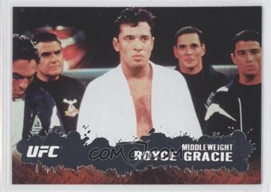 2009 Topps UFC Round 2 #1 - Royce Gracie