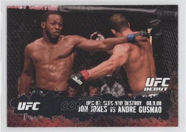 2009 Topps UFC Round 2 #101 - Jon Jones, Andre Gusmao