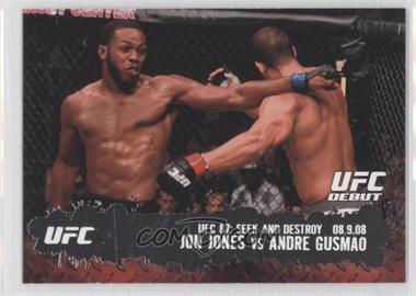 2009 Topps UFC Round 2 #101 - Jon Jones vs Andre Gusmao
