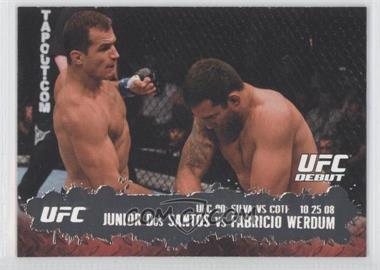 2009 Topps UFC Round 2 #108 - [Missing]