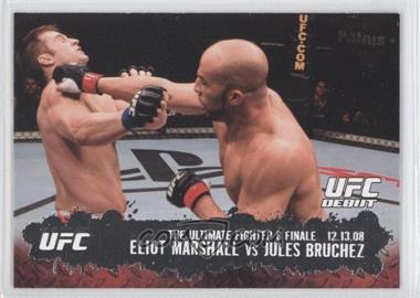 2009 Topps UFC Round 2 #114 - Eliot Marshall, Jules Bruchez