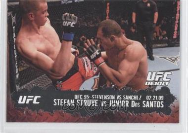 2009 Topps UFC Round 2 #138 - Stefan Struve, Junior Dos Santos