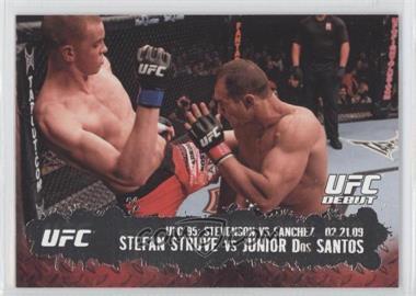 2009 Topps UFC Round 2 #138 - Stefan Struve vs Junior Dos Santos