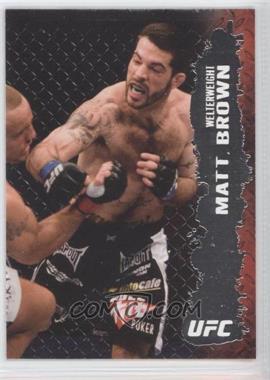 2009 Topps UFC Round 2 #41 - Matt Brown